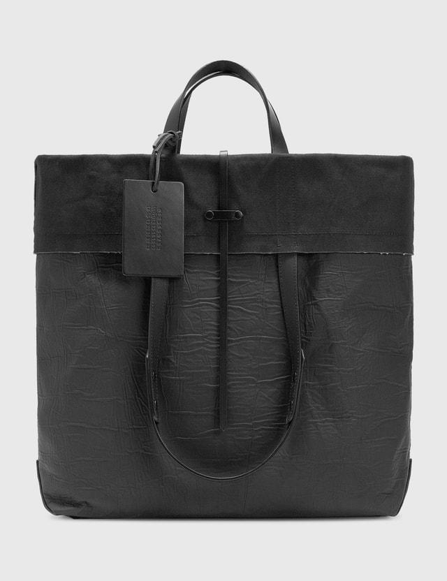 Maison Margiela Logo Fold-over Tote Bag