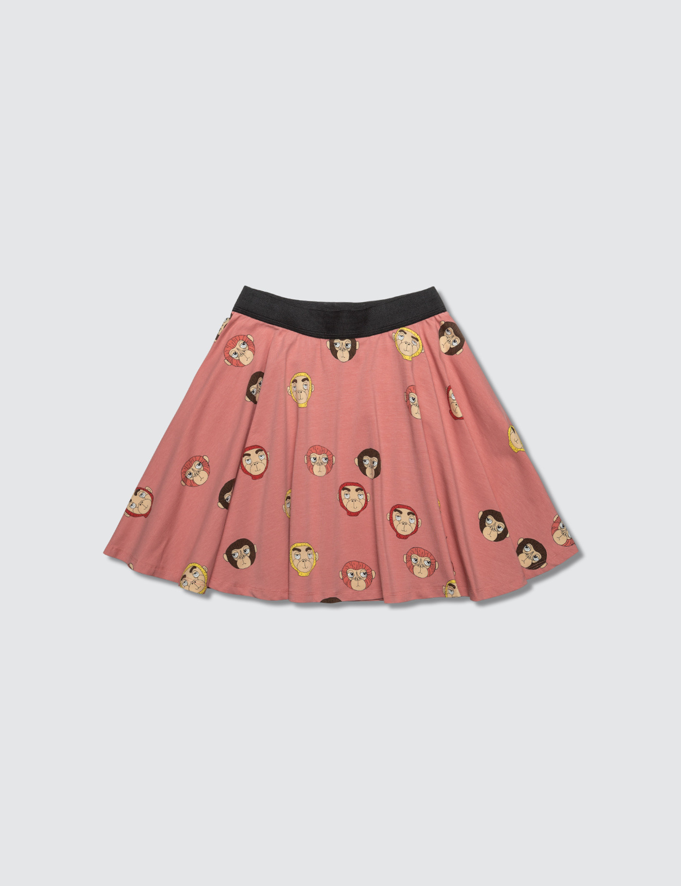 Monkeys Aop Skirt