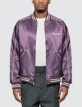 Human Made Varsity Satin Jacket Picture