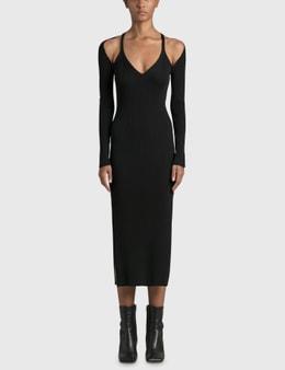 Jonathan Simkhai Esperanza Compact Cut Out Shawl Dress