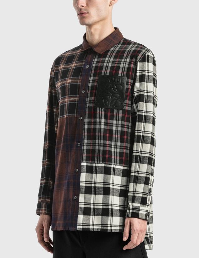 Loewe Check Patchwork Shirt