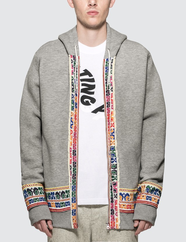 Sacai Sponge Sweat Zip Jacket