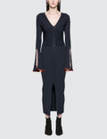 Opening Ceremony Criss Cross L/S Dress Picutre