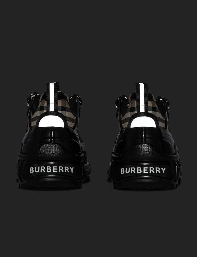 Burberry Vintage Check Cotton Arthur Sneakers Archive Beige Men