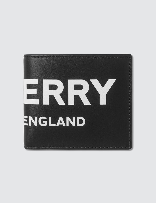 Burberry Logo Printed Bifold Wallet