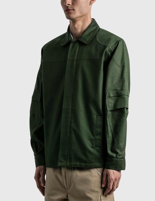 GR10K DMS Overshirt Forest Green Men