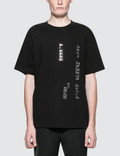 Alexander Wang S/S T-Shirt with Credit Card Decal Picture