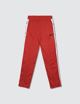MSGM Pantaloni Triacetato Unisex