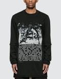 Rick Owens Drkshdw Hustler Long Sleeve T-shirt 사진