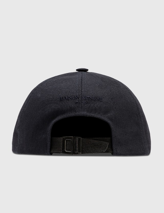 Maison Kitsune Neon Fox Patch Cap