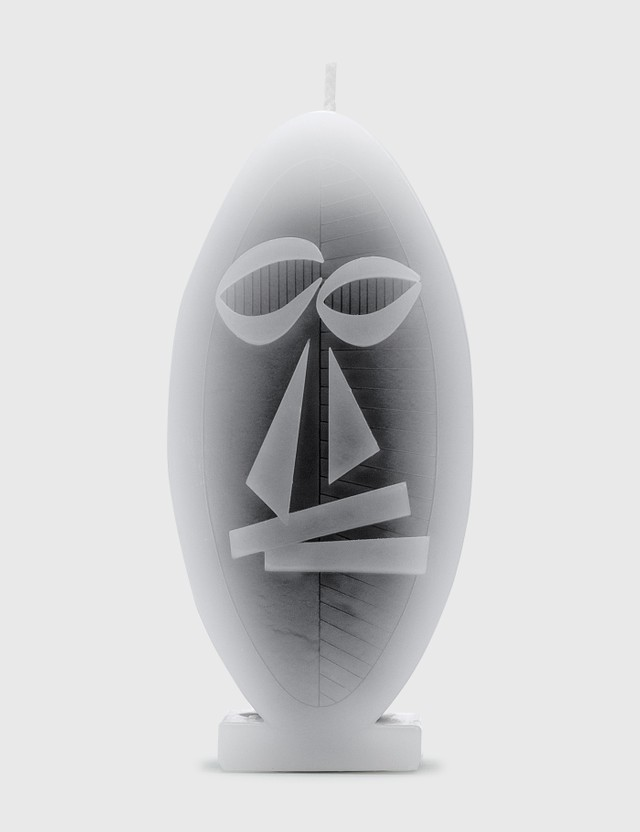 Stussy Mask Candle Grey Unisex