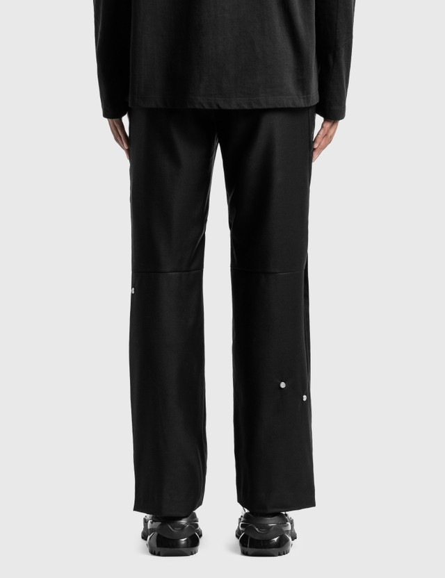 C2H4 Los Angeles C2H4® x Mastermind Japan Accumulation Streamline Tailored Trousers Black Men