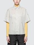 Maison Kitsune Jacquard Surf Lisa Short Sleeve Shirt Picture