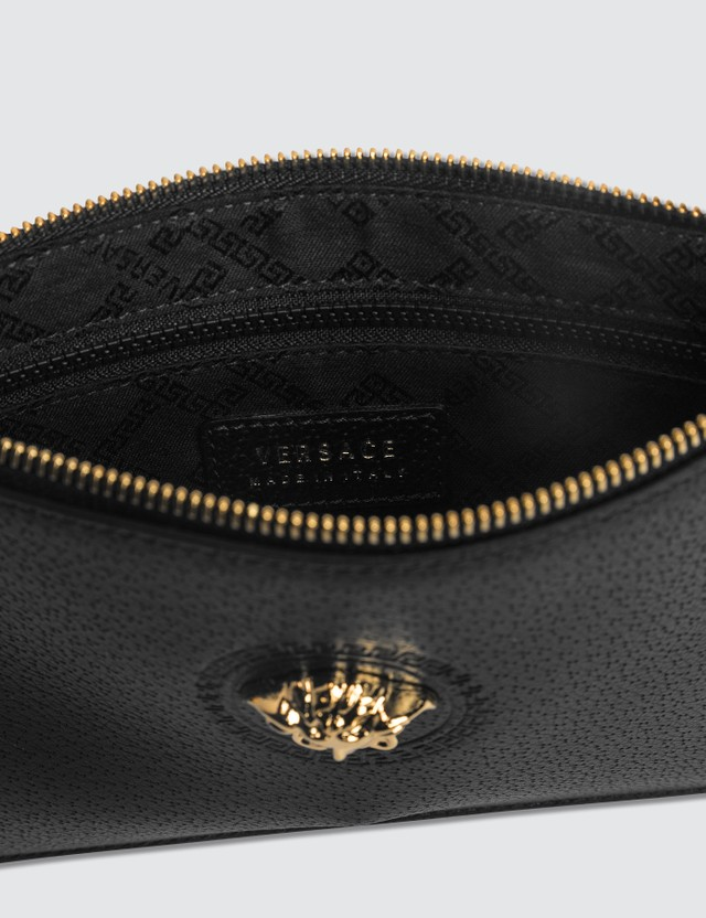 Versace Icon Leather Pouch