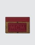 MCM Visetos Original Webbing Cardholder Picutre