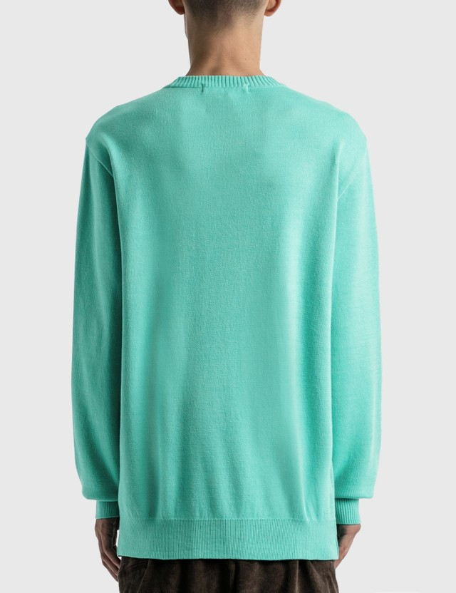 LMC LMC Bear Knit Sweatshirt Green Men