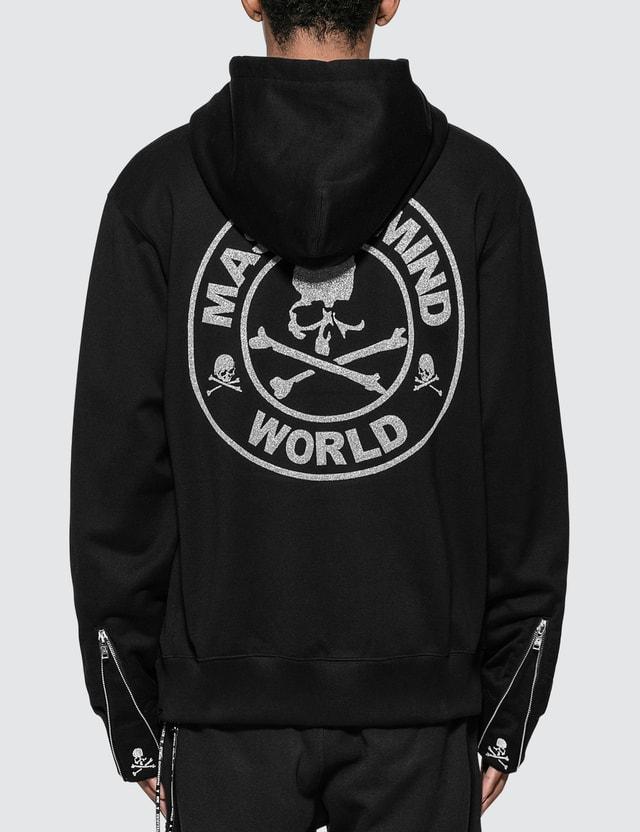 Mastermind World Glitter Skull Logo Full-Zip Hoodie
