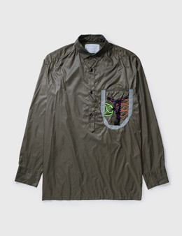 Kolor Kolor Nylon Pullover Shirt