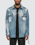 424 Workwear Denim Shirt Picture
