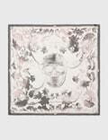 Alexander McQueen Overprint Skull Scarf Picutre