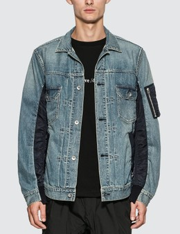 Sacai MA-1 Denim Jacket