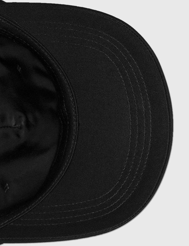 We11done Cotton Logo Stamp Cap Black Men
