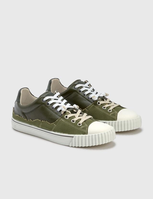 Maison Margiela Evolution Low Sneaker Olive/birch Men