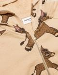 Mini Rodini Donkey Aop Zip Hoodie