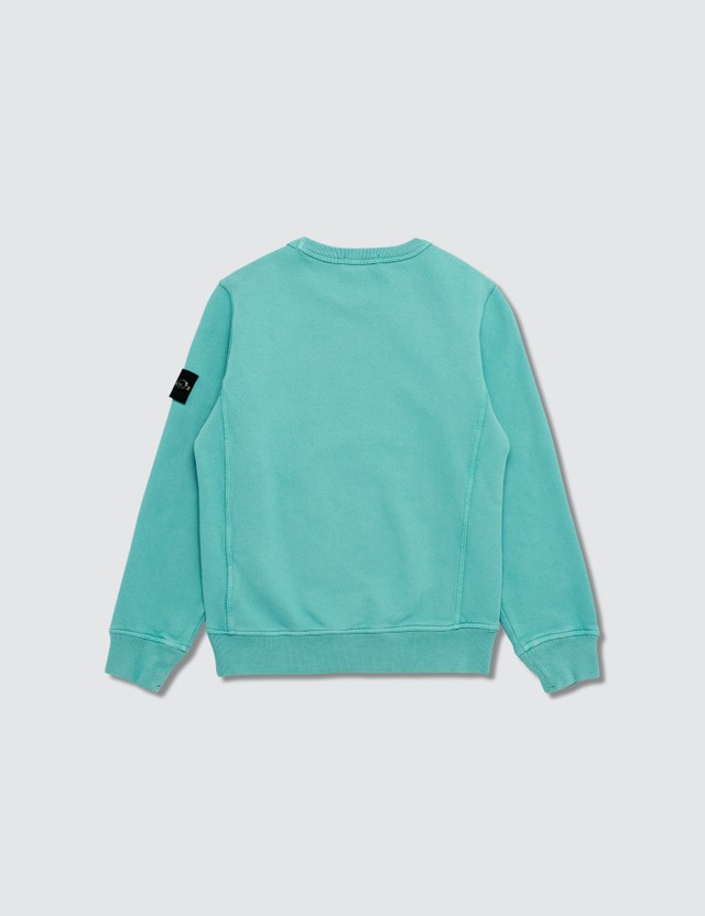 Stone Island Compass Logo Patch Sweatshirt (Infants)