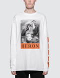 Heron Preston B&w Herons L/S T-Shirt Picture