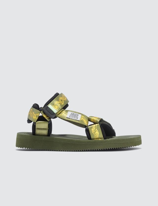 Suicoke Aries x Suicoke DEPA-CABARI-A Sandals