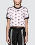Adidas Originals Adidas Originals x Fiorucci Crop T-shirt Picture