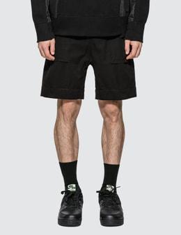 Sacai Gramiccl Cotton Twill Shorts