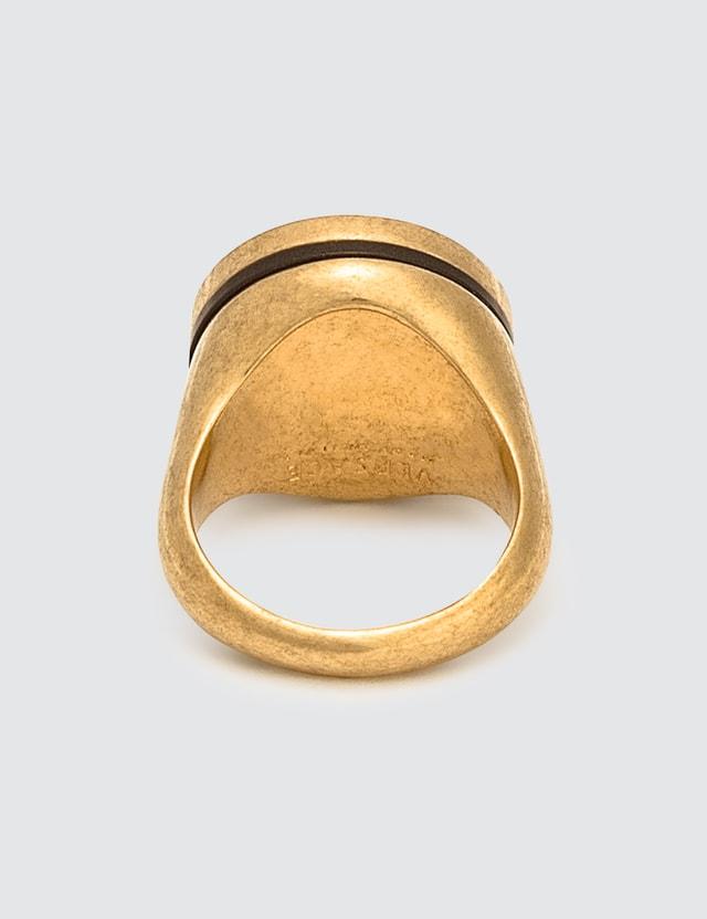 Versace Resin Medusa Ring