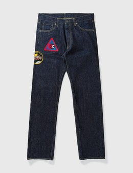 Billionaire Boys Club One Washed Embroidery Jeans