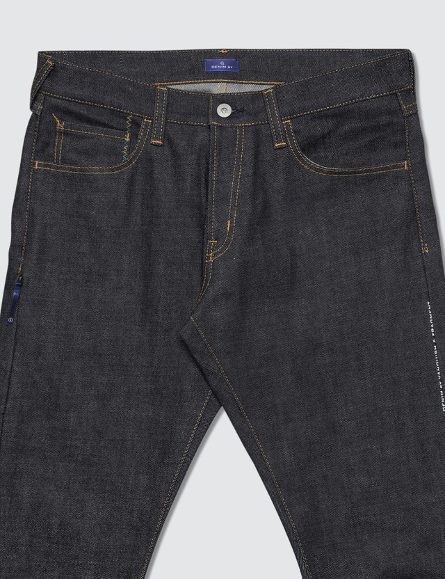 Denim By Vanquish & Fragment Rigid Regular Straight Denim Jeans (19SS)