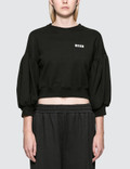 "MSGM ""M"" Bejeweled Sweatshirt Picture"
