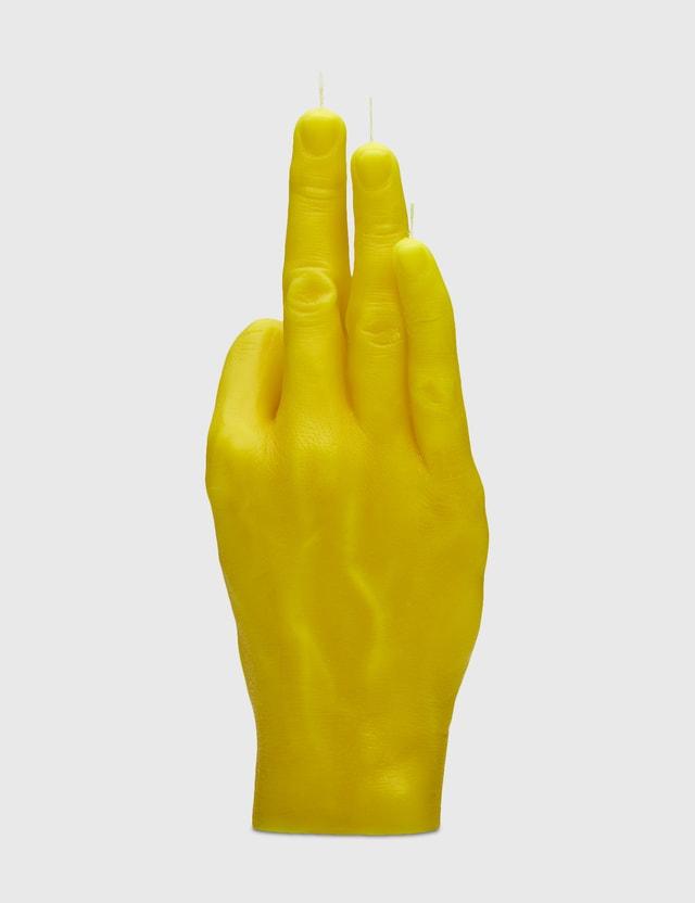 Candle Hand OK Candle Yellow Unisex