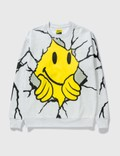 Chinatown Market Smiley Dry Wall Breaker Sweatshirt Picture