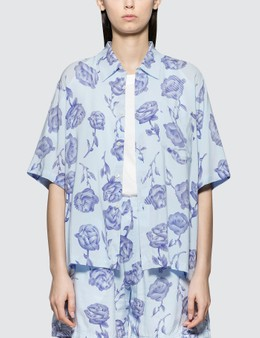 Aries Rose Hawaiian Shirt