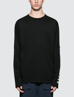 uniform experiment Turn Up Sleeve Sweatshirt
