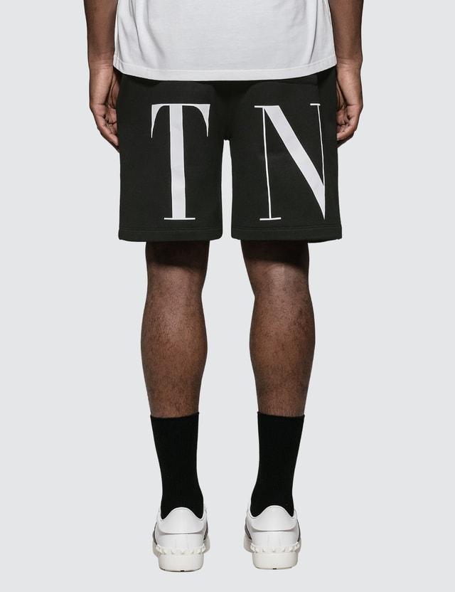 Valentino Bermuda Shorts with VLTN Logo