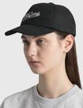 Maison Kitsune Varsity Fox Cap Black Bk Women