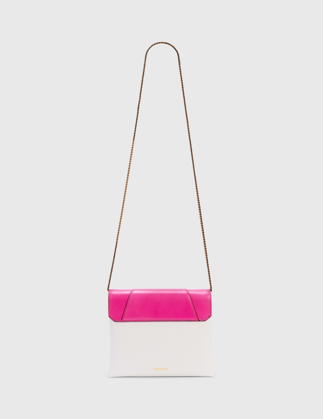 Versace Virtus Clutch Fuxia-bianco Ottico- Oro Tribute Women