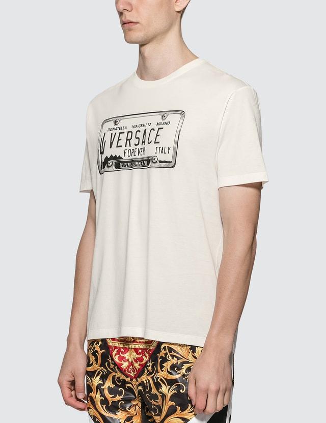 Versace License Plate Logo T-shirt