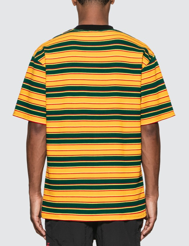 Pleasures Chainsmoke Stripe T-Shirt
