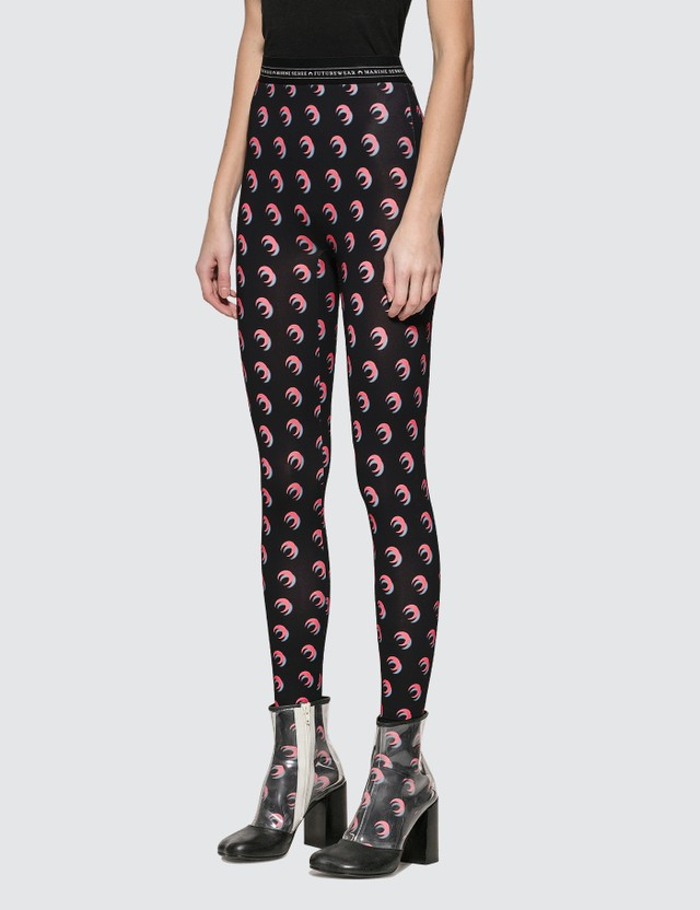 Marine Serre Iconic Moon Print Leggings