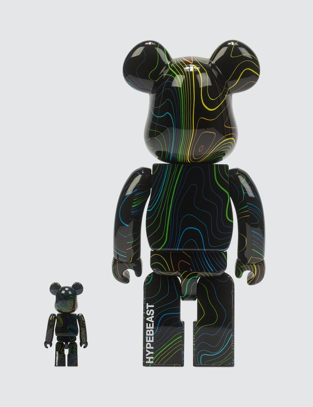Medicom Toy Hypebeast x Medicom Toy Be@rbrick 100% & 400% Set