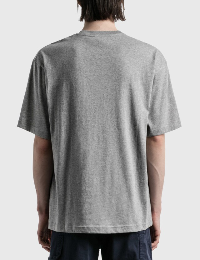 Acne Studios Exford Face T-shirt Grey Men