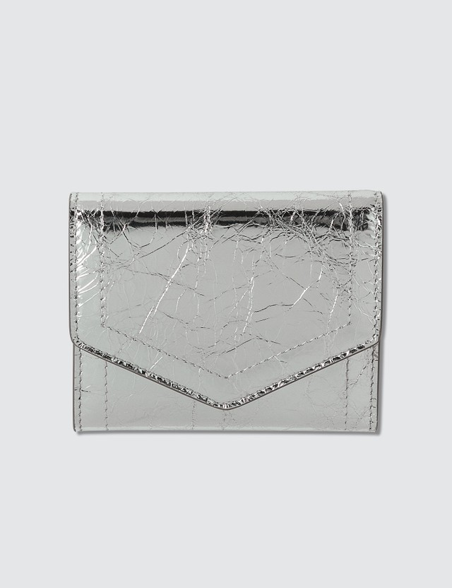 Maison Margiela Metallic Fold Small Wallet